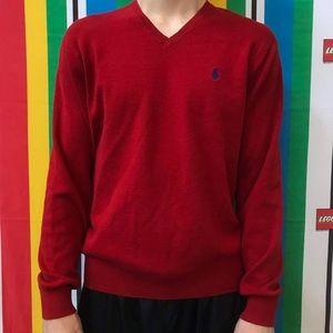 Polo Ralph Lauren Pima Cotton V Nexk Sweater Large